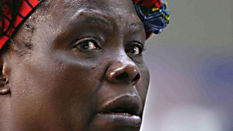 19 Feb 2009, Nairobi, Kenya --- File image of Wangari Maathai. -- Photos of the late Nobel Prize-winning environmentalist Wangari Maathai at the United Nations Environment Program (UNEP) Headquarters in Nairobi, Kenya. 19 February 2009 --- Image by © TOM MARUKO / Demotix/Demotix/Corbis