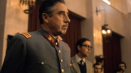 21 Aug 1973, Santiago, Chile --- General Augusto Pinochet, head of Chile's ruling military junta, holds a news conference at Santiago's War College on September 21, 1973. Pinochet states that neither the US nor any other foreign nation was involved in the coup d'etat that overthrew the Marxist government of President Salvador Allende. --- Image by © Bettmann/CORBIS