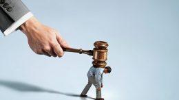 Conceptual image of justice --- Image by © C.J. Burton/Corbis