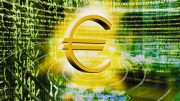 Euro and Stock Listings --- Image by © Image Source/Corbis