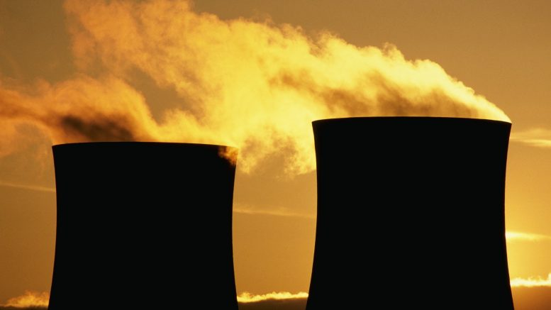 Didcot, Oxfordshire, England, UK --- Nuclear Energy --- Image by © Charles O'Rear/Corbis