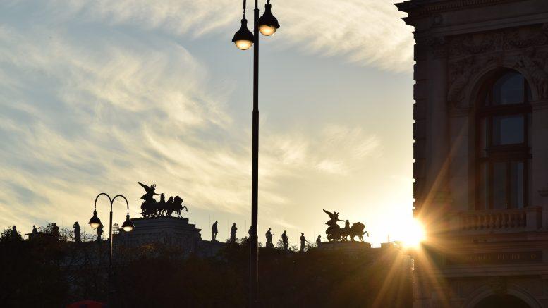 Sonnenuntergang, Wien © Raoul Kirschbichler